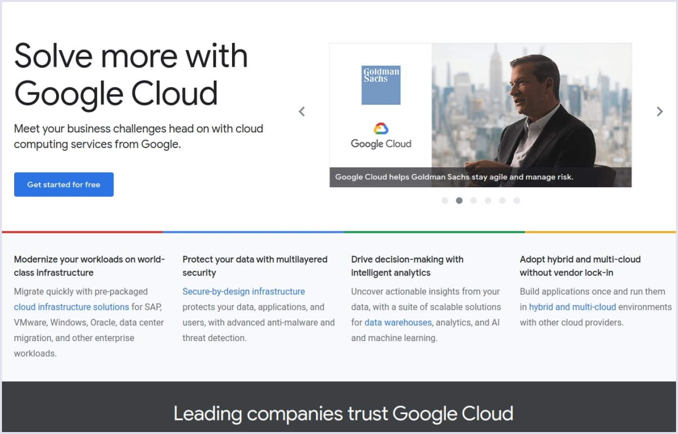 Google Cloud Platform hosting | Codica