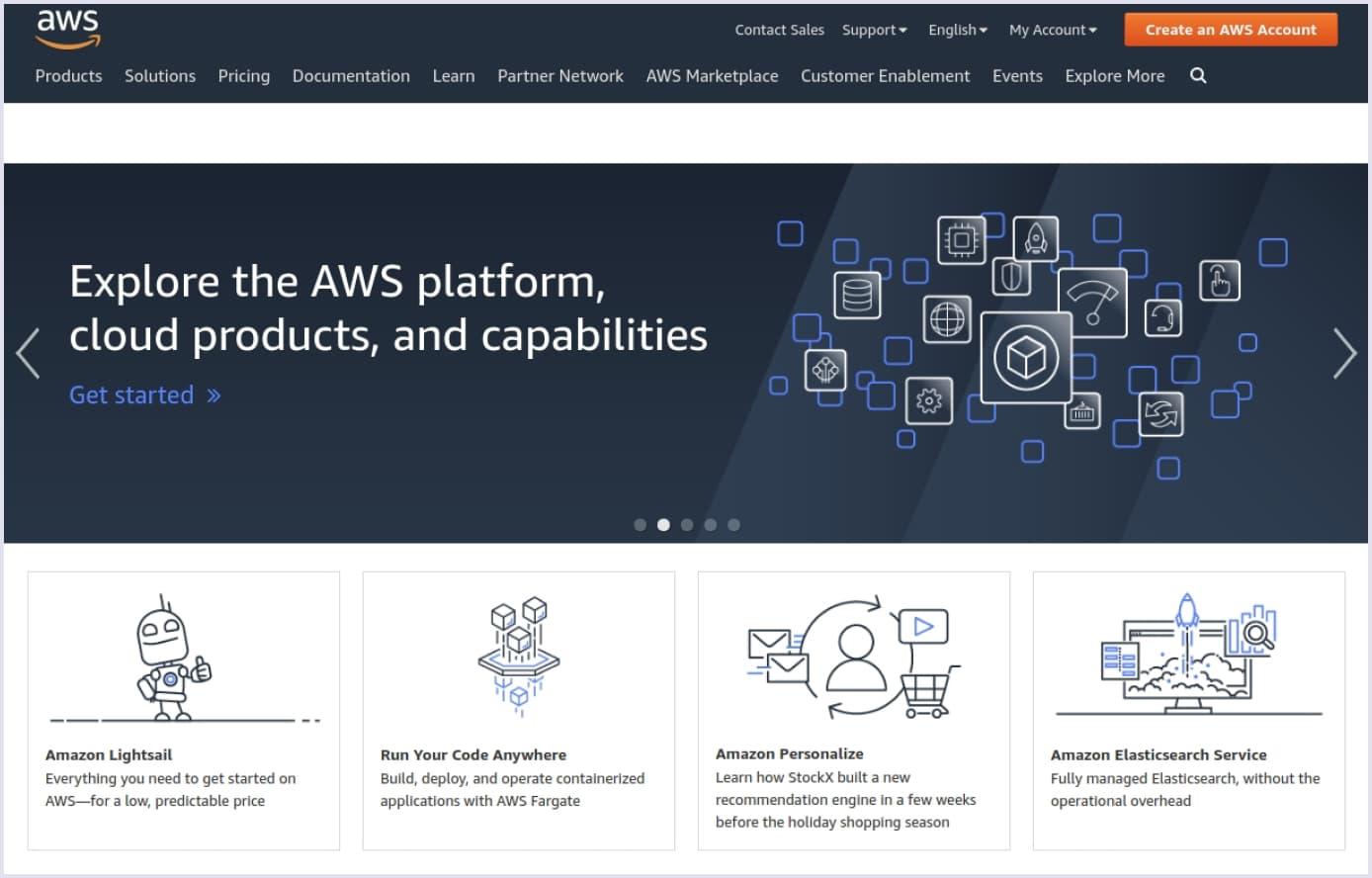 Amazon AWS cloud hosting | Codica