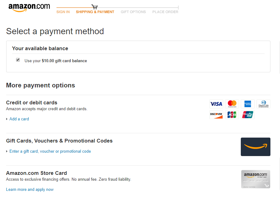 Multiple payment options as a key marketplace feature on Amazon   Codica
