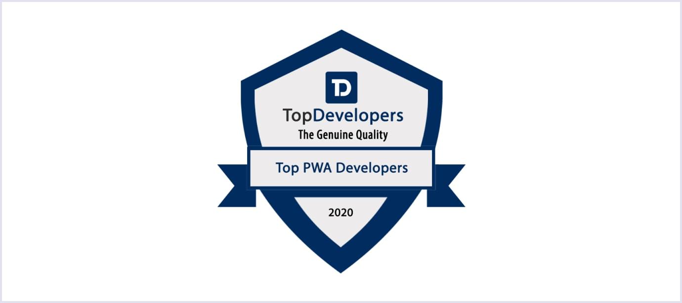 Top PWA Developers badge