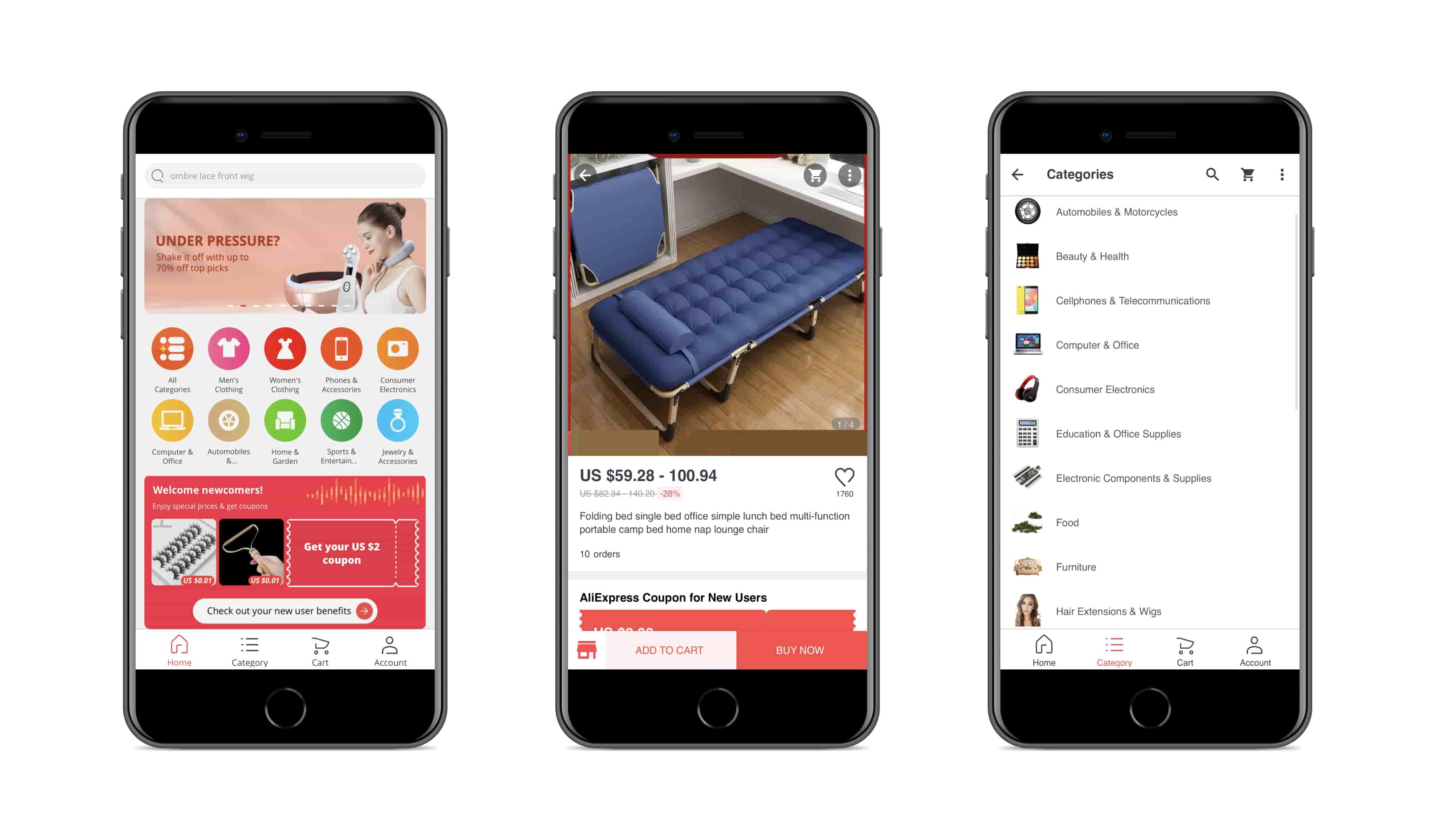 Progressive web app by AliExpress