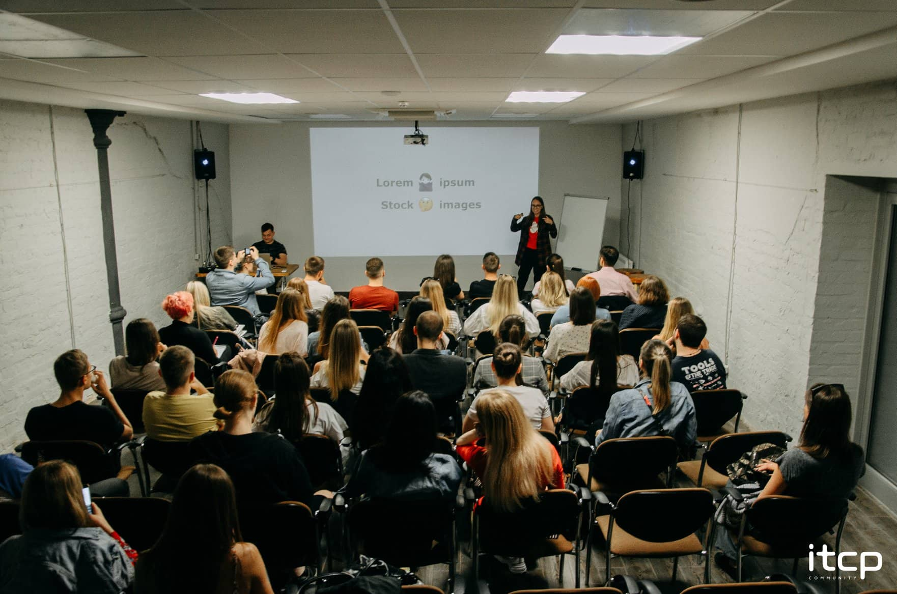 Codica team debuted speaking at a design meetup