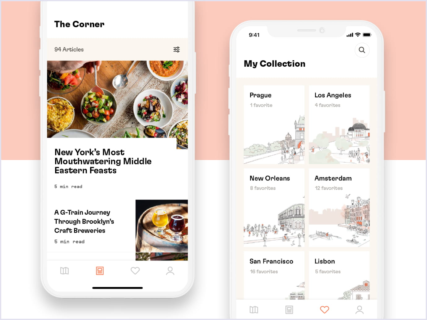 Mobile-first approach as a web design trend by Dorsia