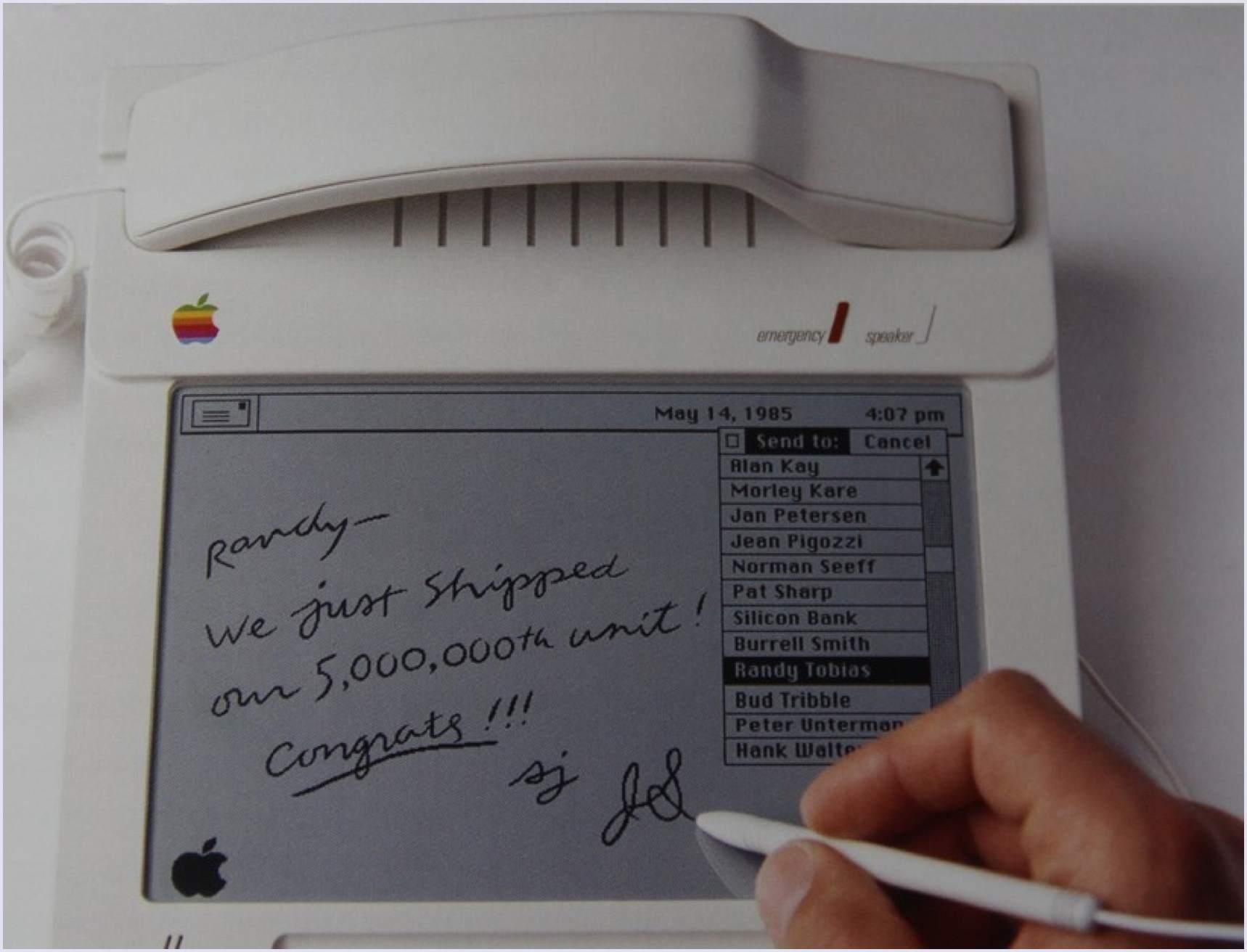 Famous examples of prototypes: iPhone prototype