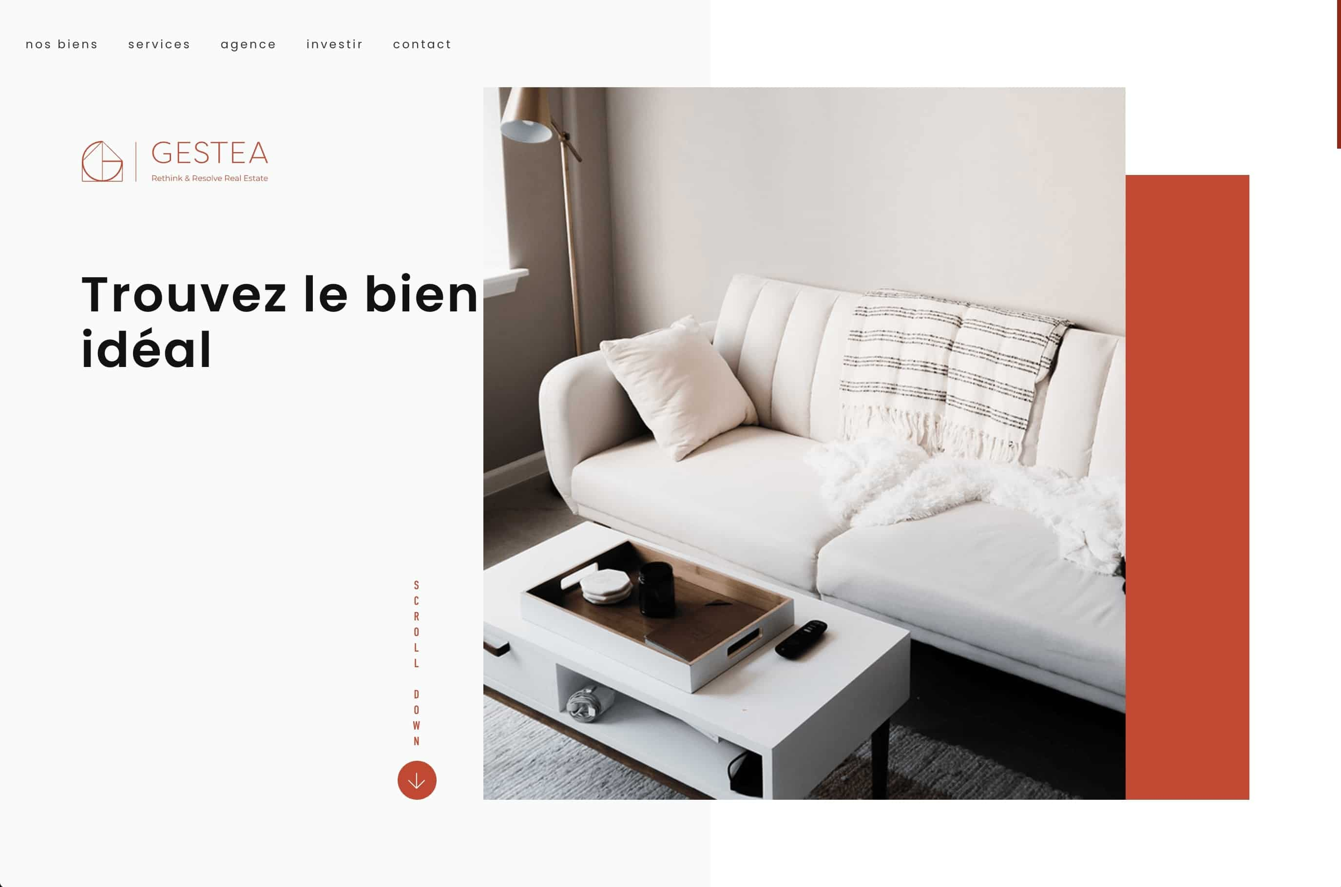 Hot web design trends: Overlapping elements by Gestea | Codica