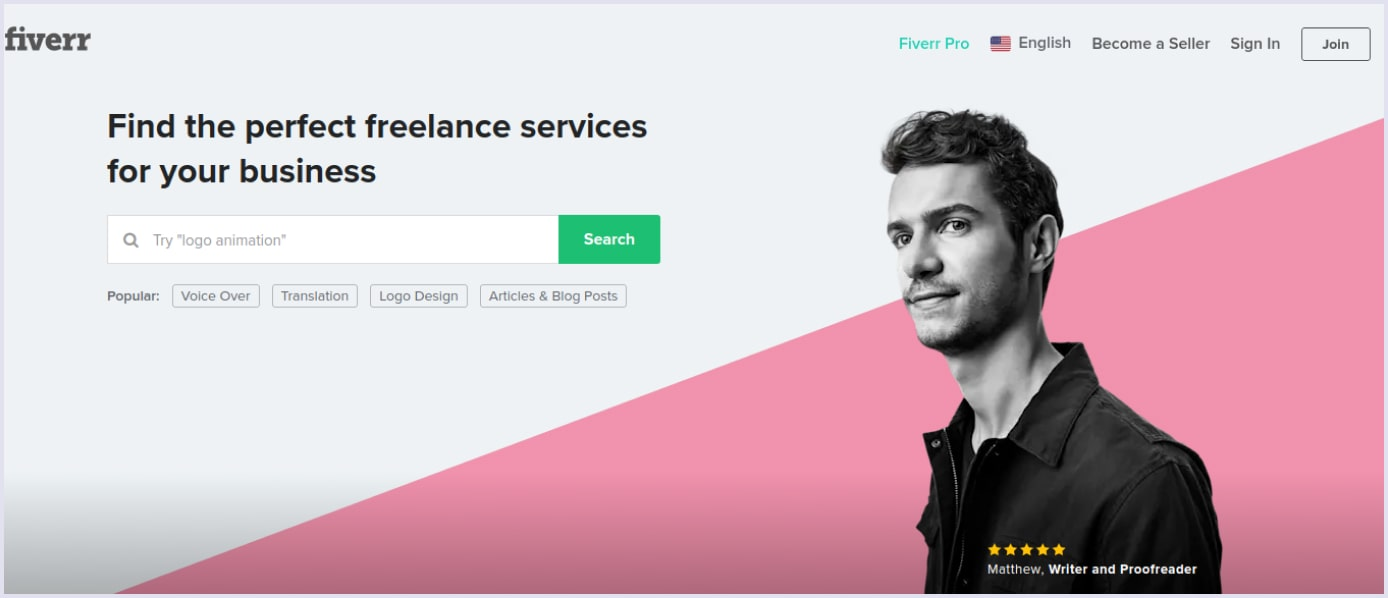 Ruby on Rails marketplace Fiverr   Codica