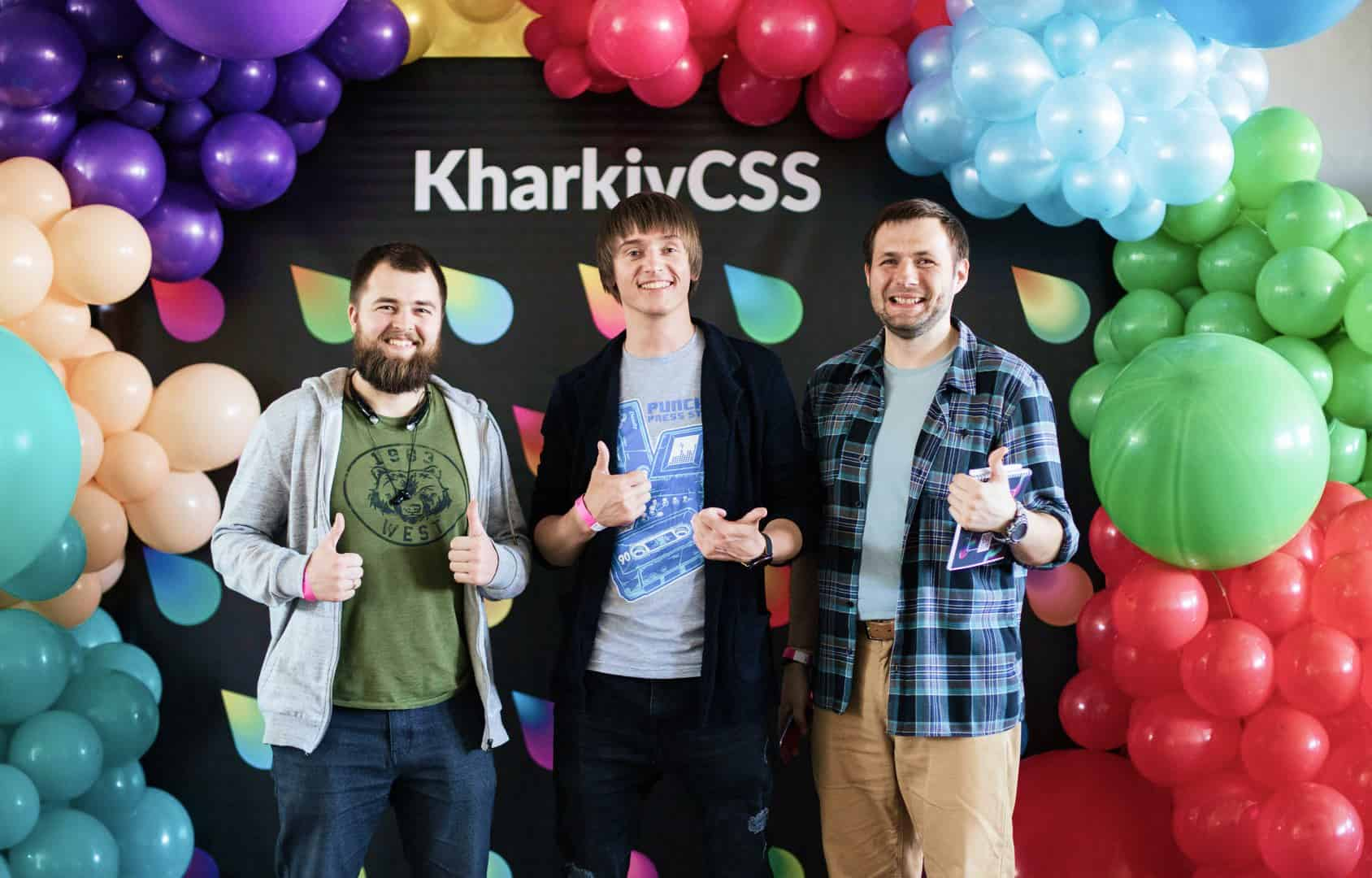 Codica team at KharkivCSS
