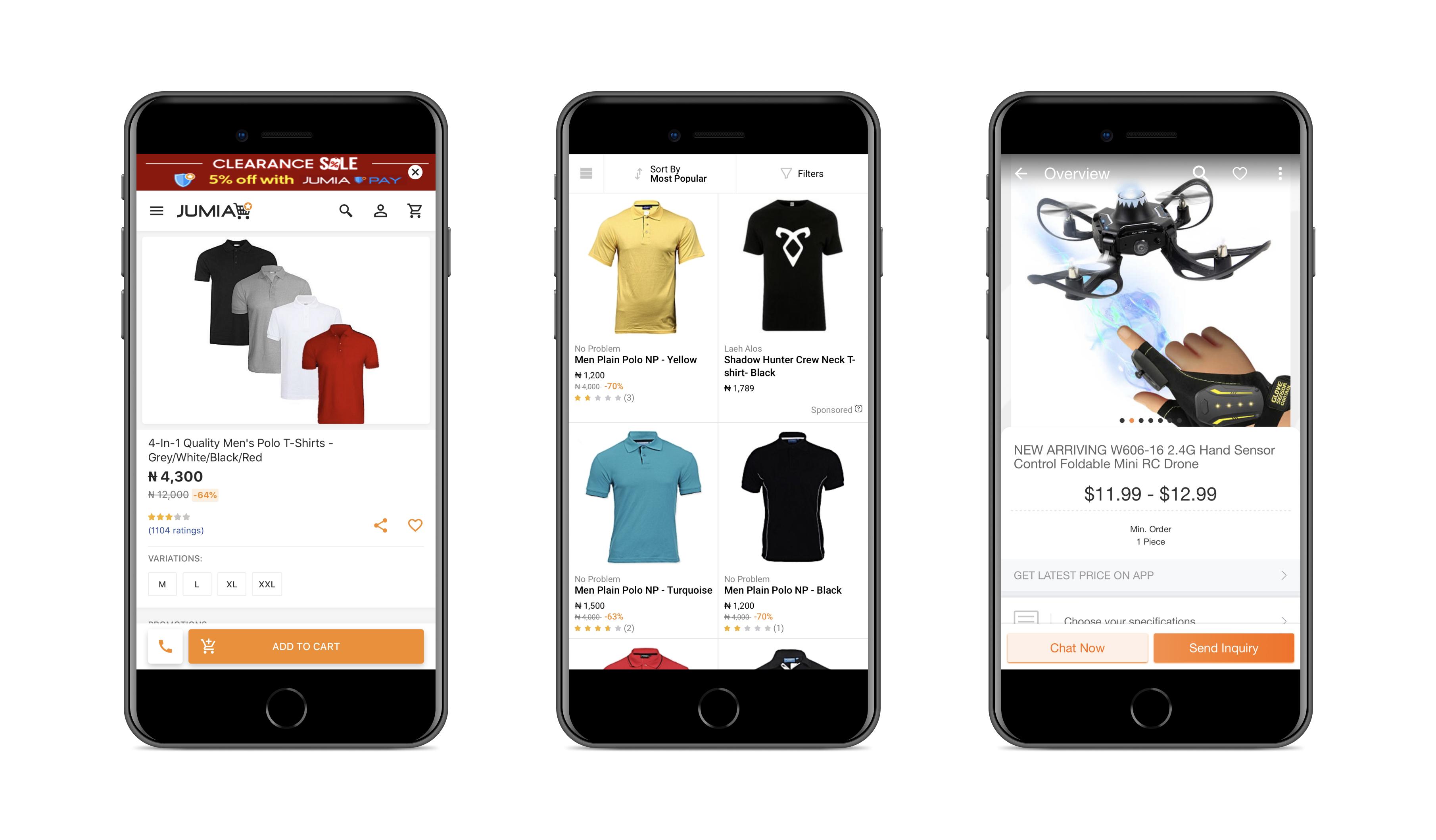 Progressive web app by Jumia   Codica