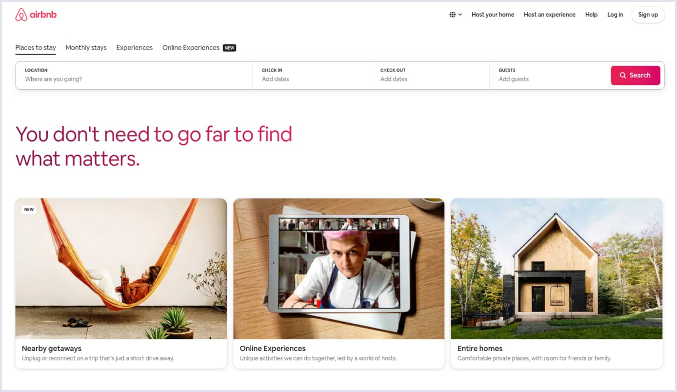 Ruby on Rails marketplace Airbnb | Codica
