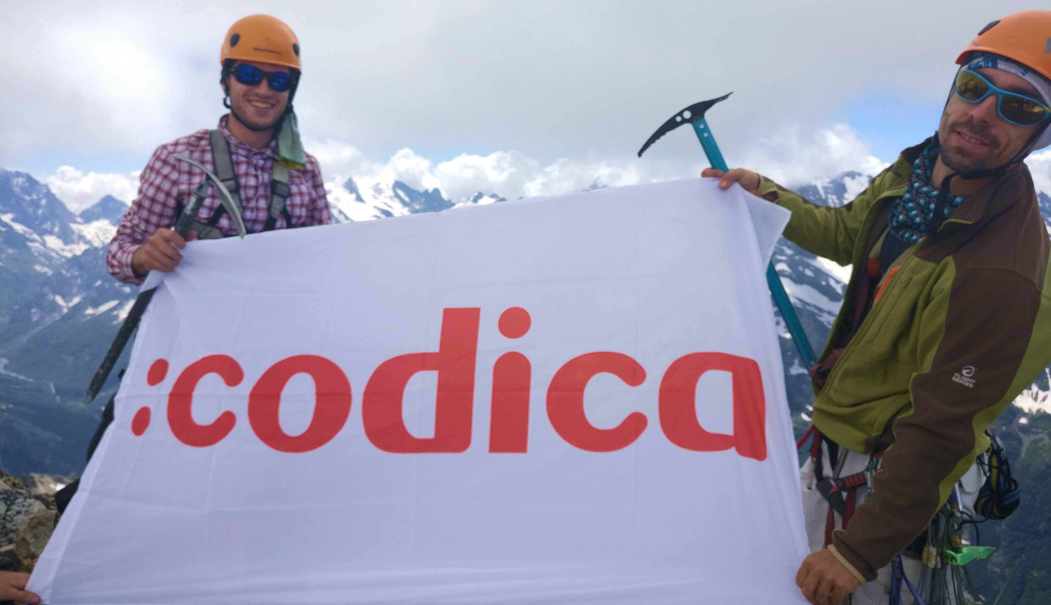 Mountain climbing as one of the hobbies of our teammates | Codica