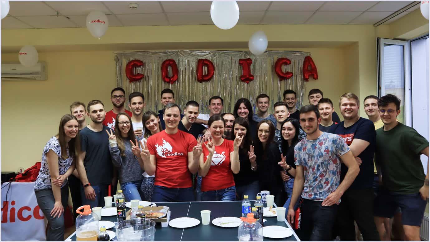 Codica software development team celebrates its 5th birthday