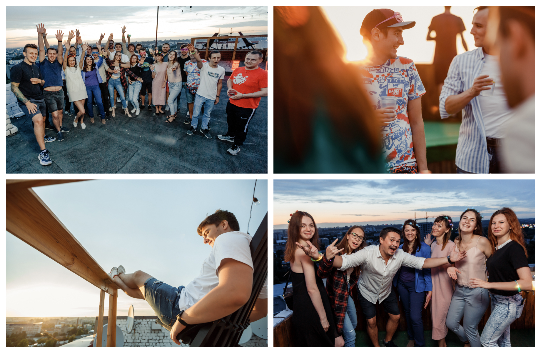 Codica team organized an awesome roof party