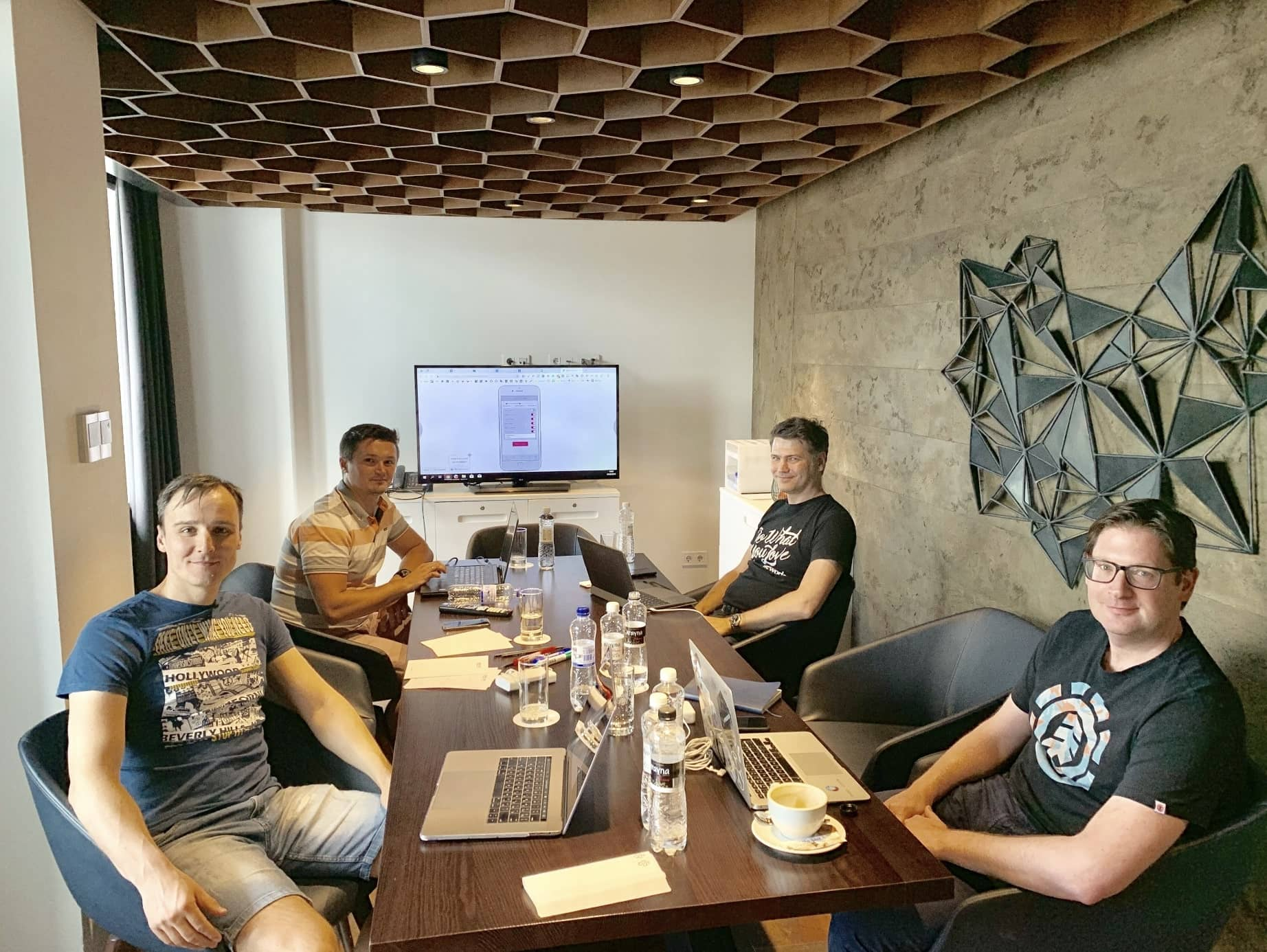 Project discovery with clients in Kyiv, Ukraine