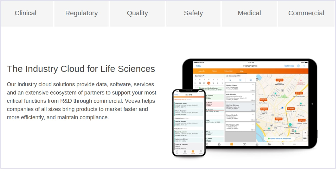 Cloud solution Veeva for life sciences | Codica