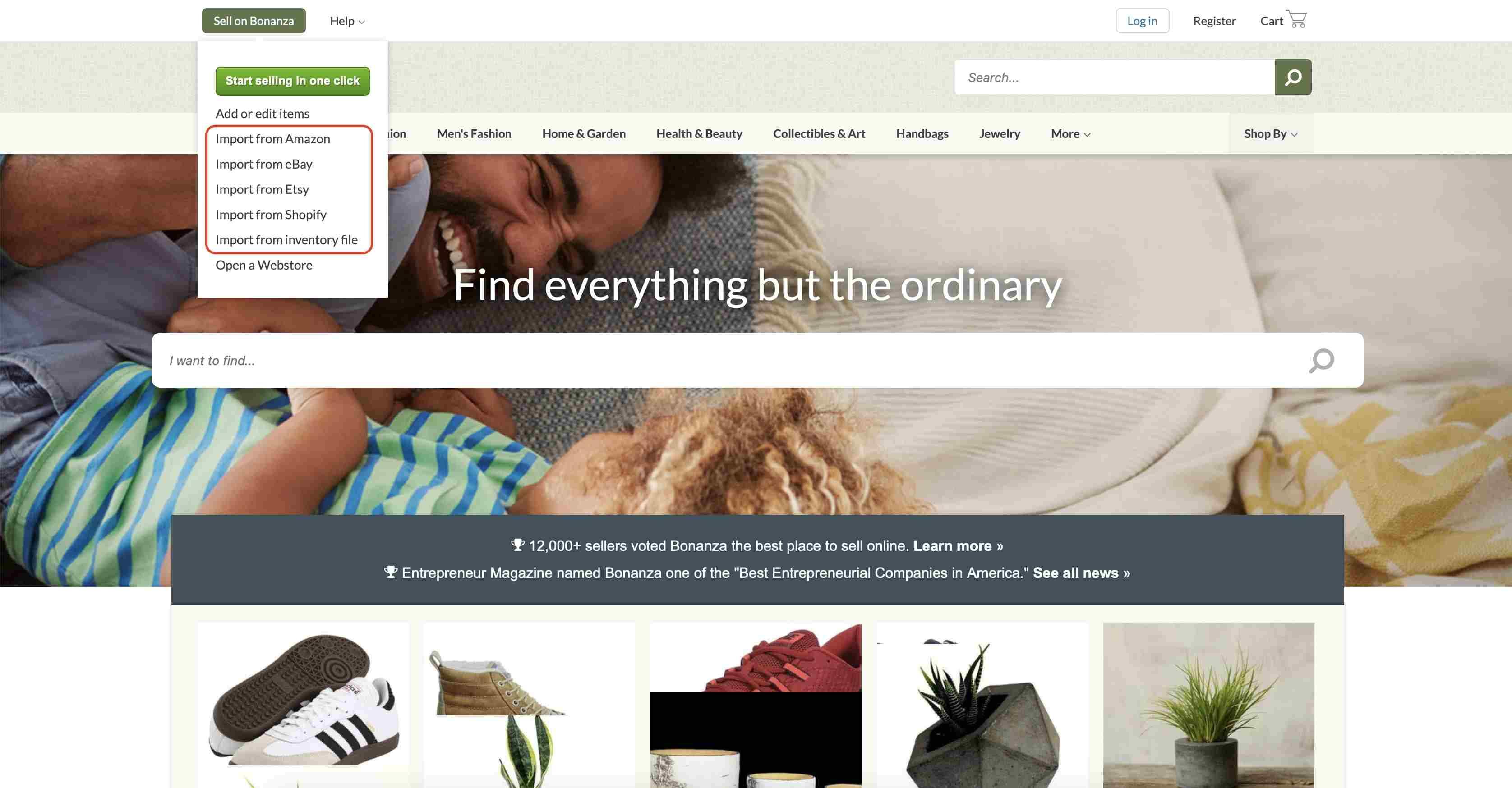 Importing multivendor marketplace feature on Bonanza | Codica