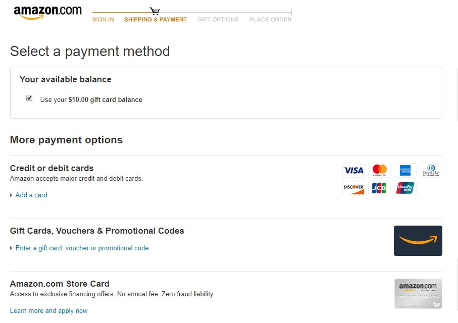 Multiple payment options as a key marketplace feature on Amazon | Codica