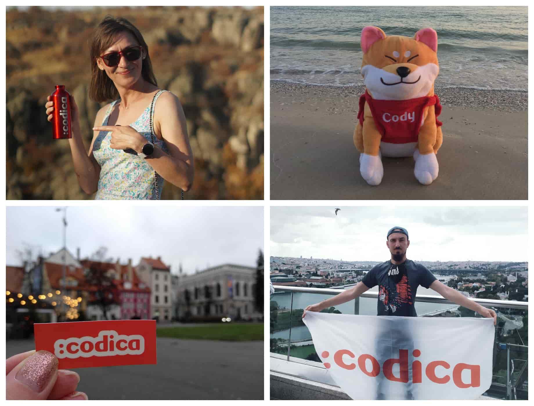 Codica software development team on tour