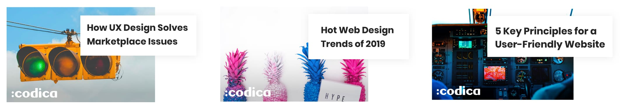 The most popular articles within a design category