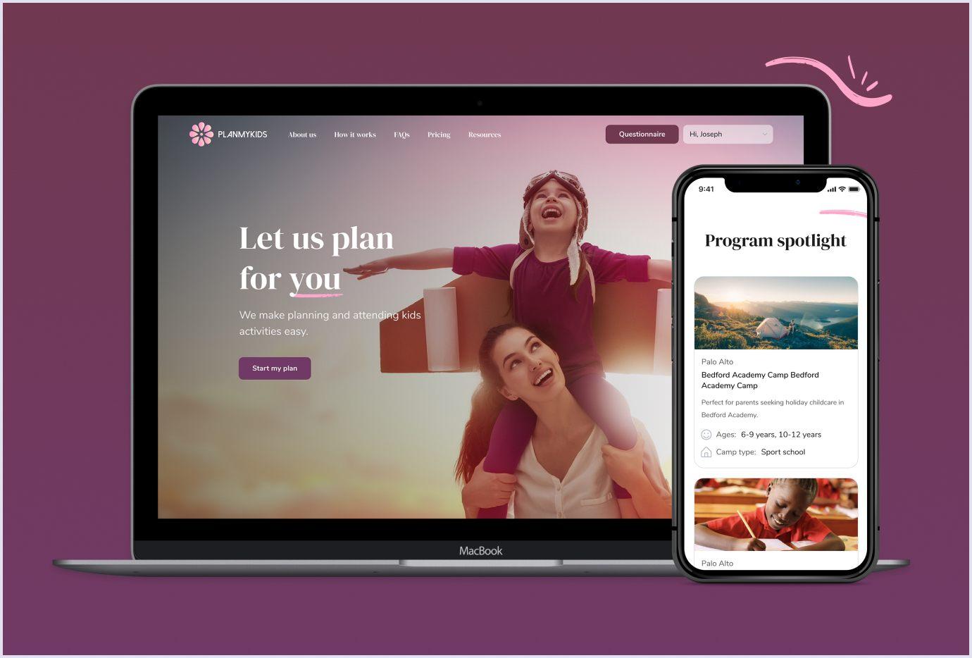 PWA as the future of web development: PlanMyKids