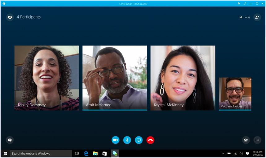 Skype call screenshot   Codica