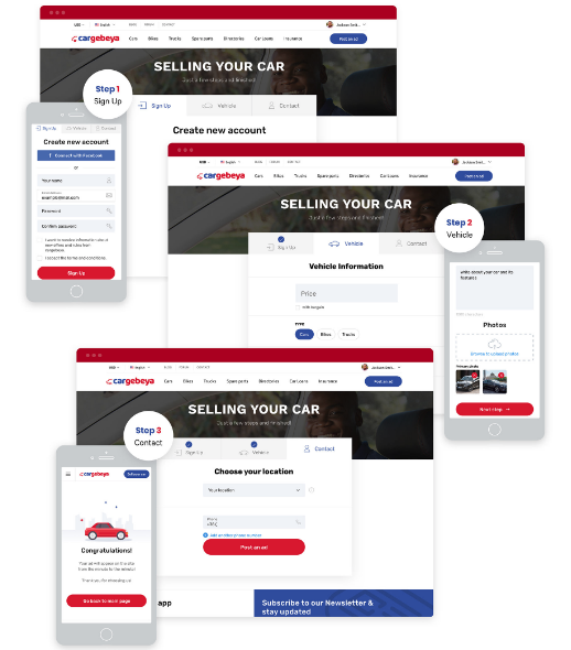 Multi-vendor vehicle marketplace