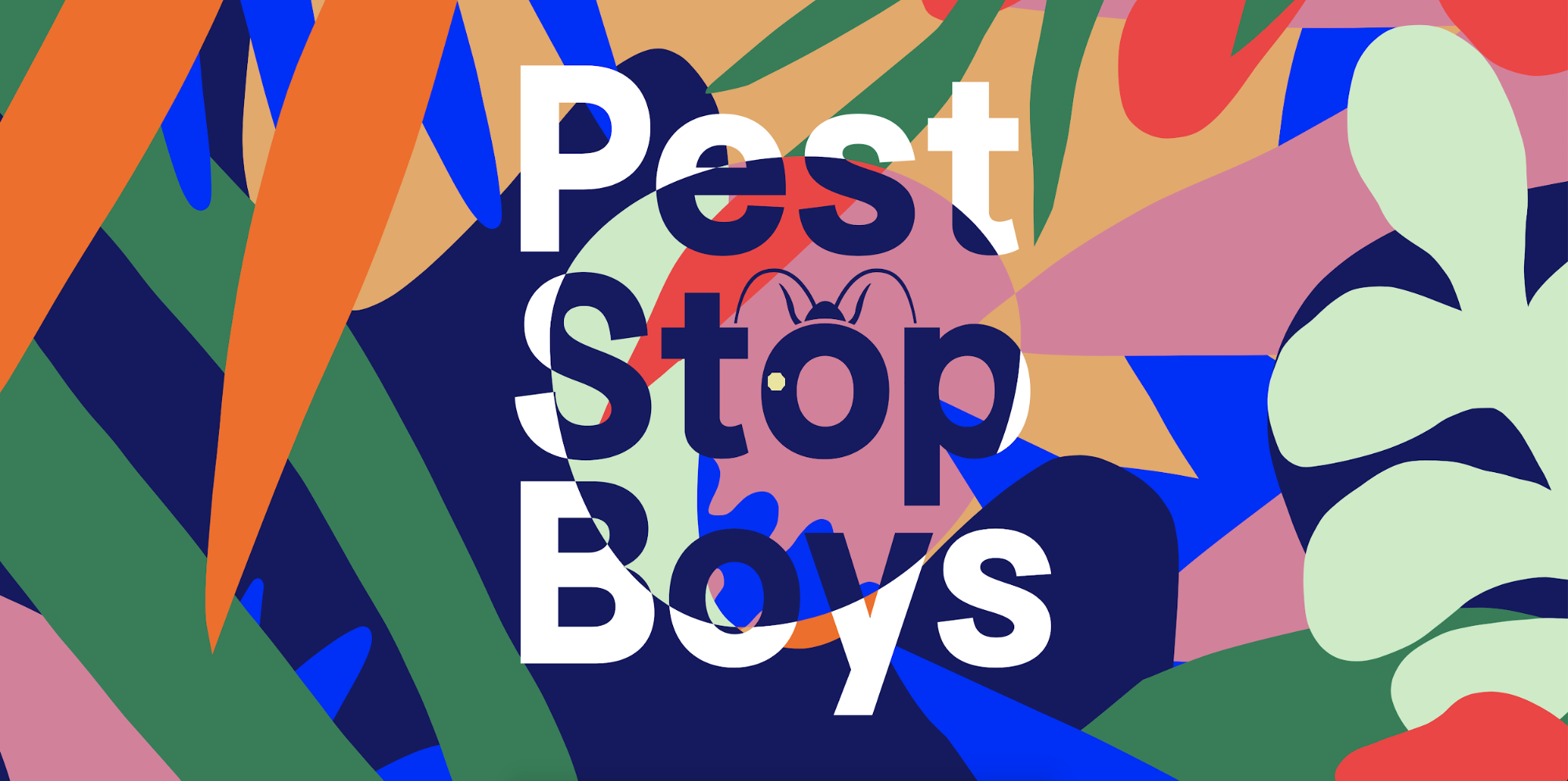 Combination of bright colors by Pest Stop Boys