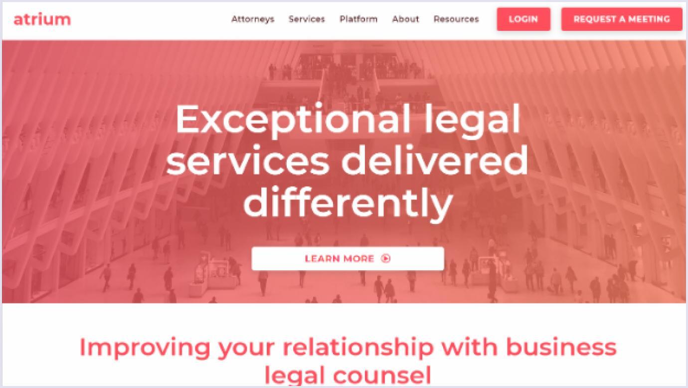 Atrium as a SaaS startup that failed