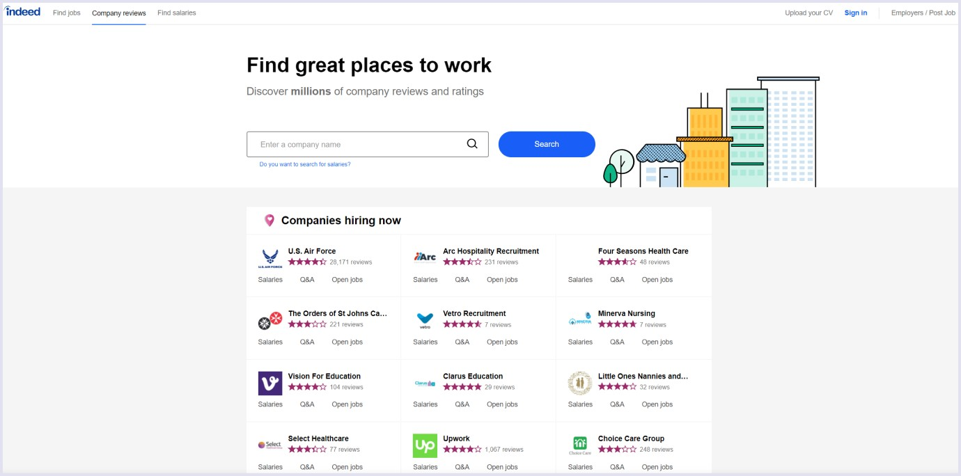 An example how to make a website like Yelp
