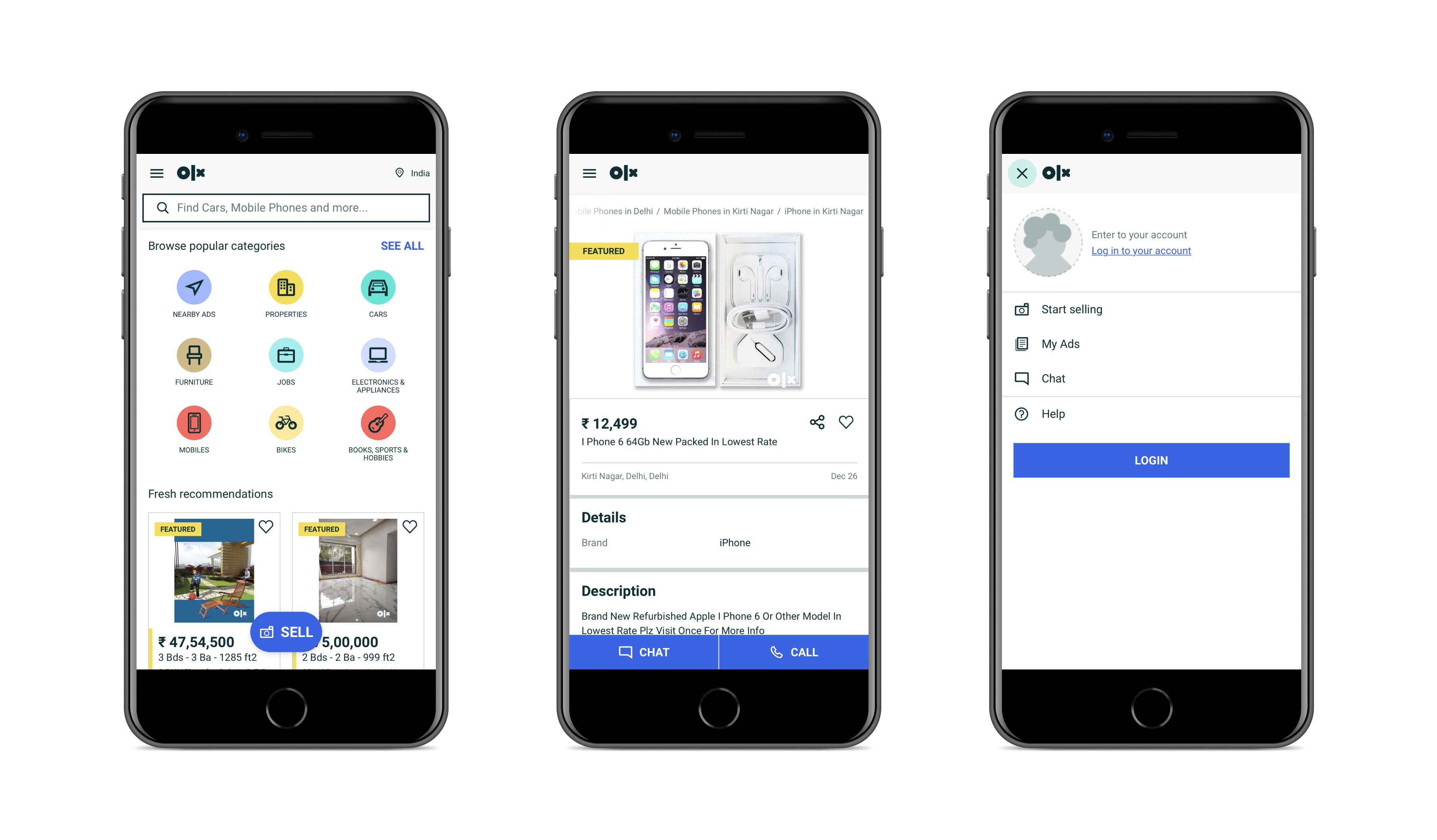 Progressive web app by OLX   Codica