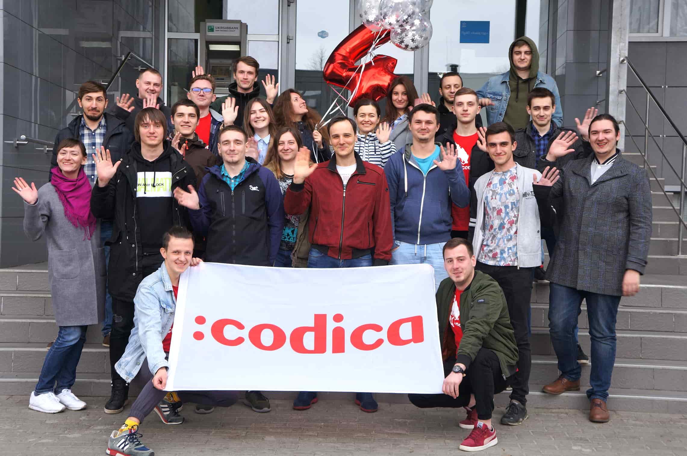 The celebration of Codica's birthday | Codica