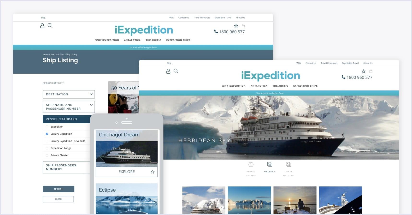 Online travel marketplace screenshot | Codica