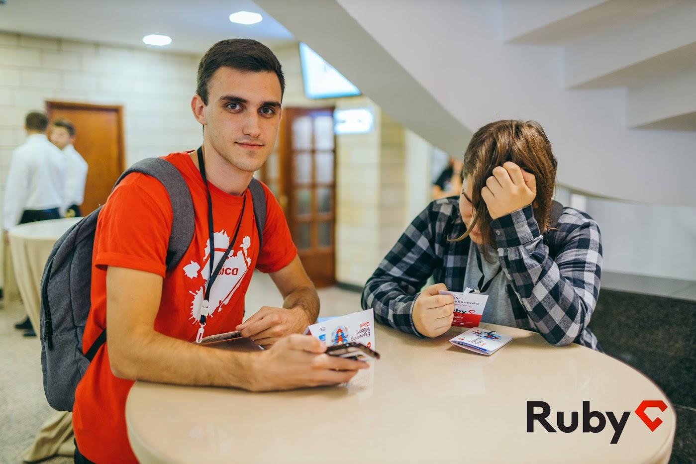 Codica team at RubyC conference