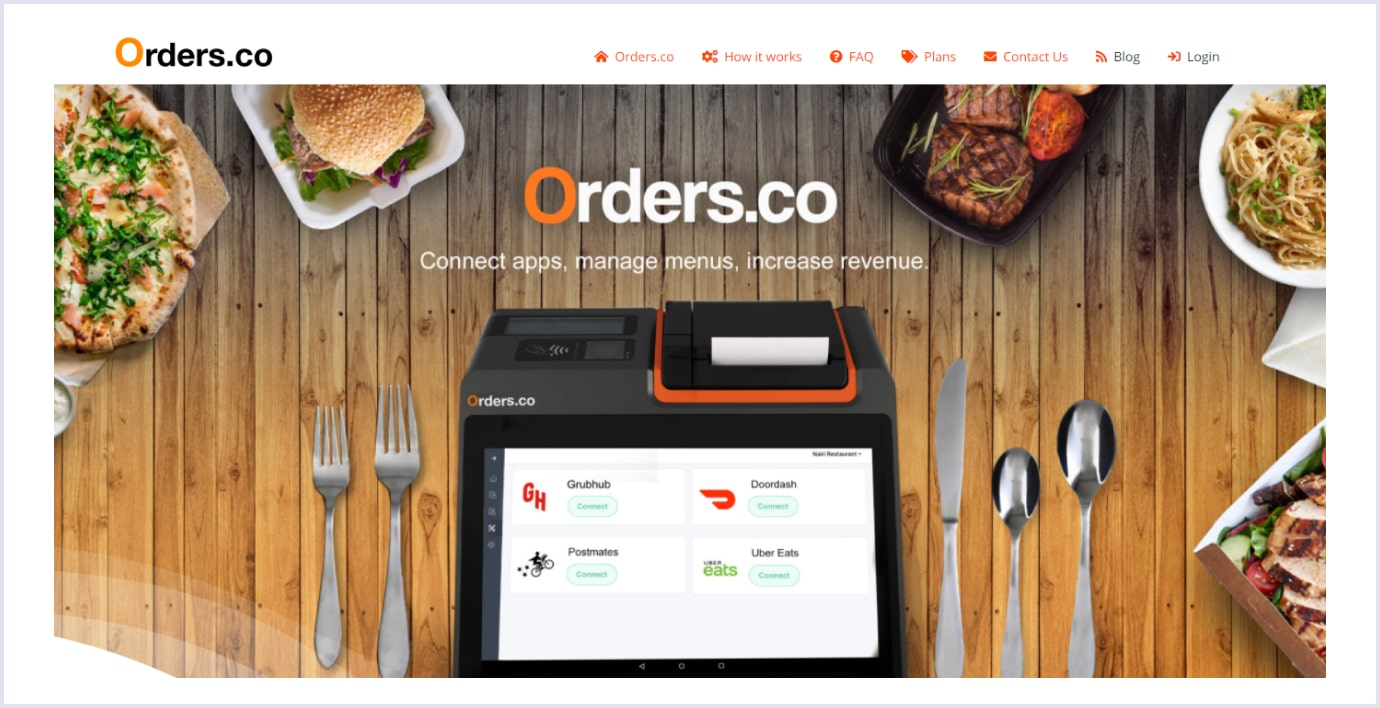 Orders.co as one of the top saas startups