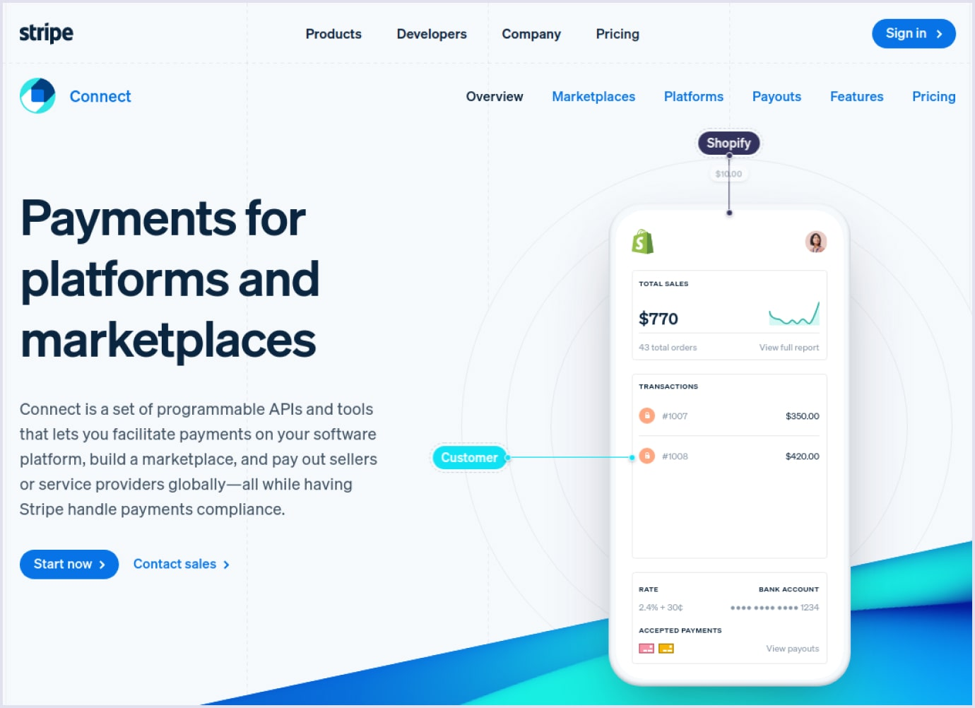 Payment solution Stripe Connect | Codica