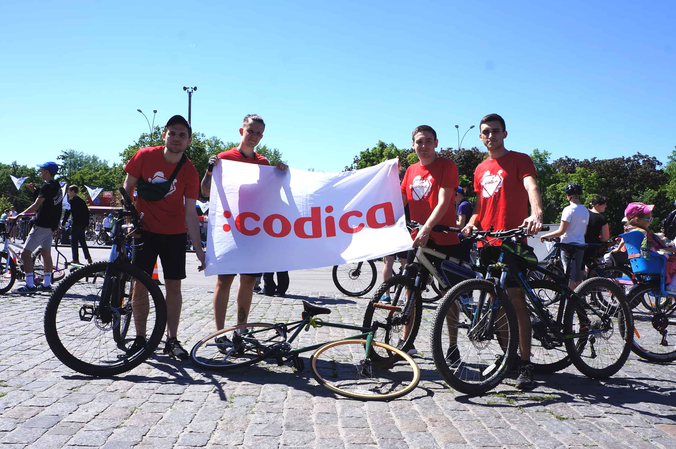 Codica team participated in Bicycle Day Kharkiv 2019