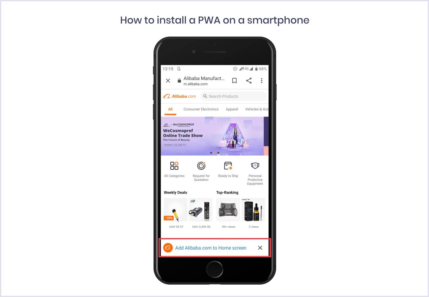 How to install a PWA on a smartphone | Codica