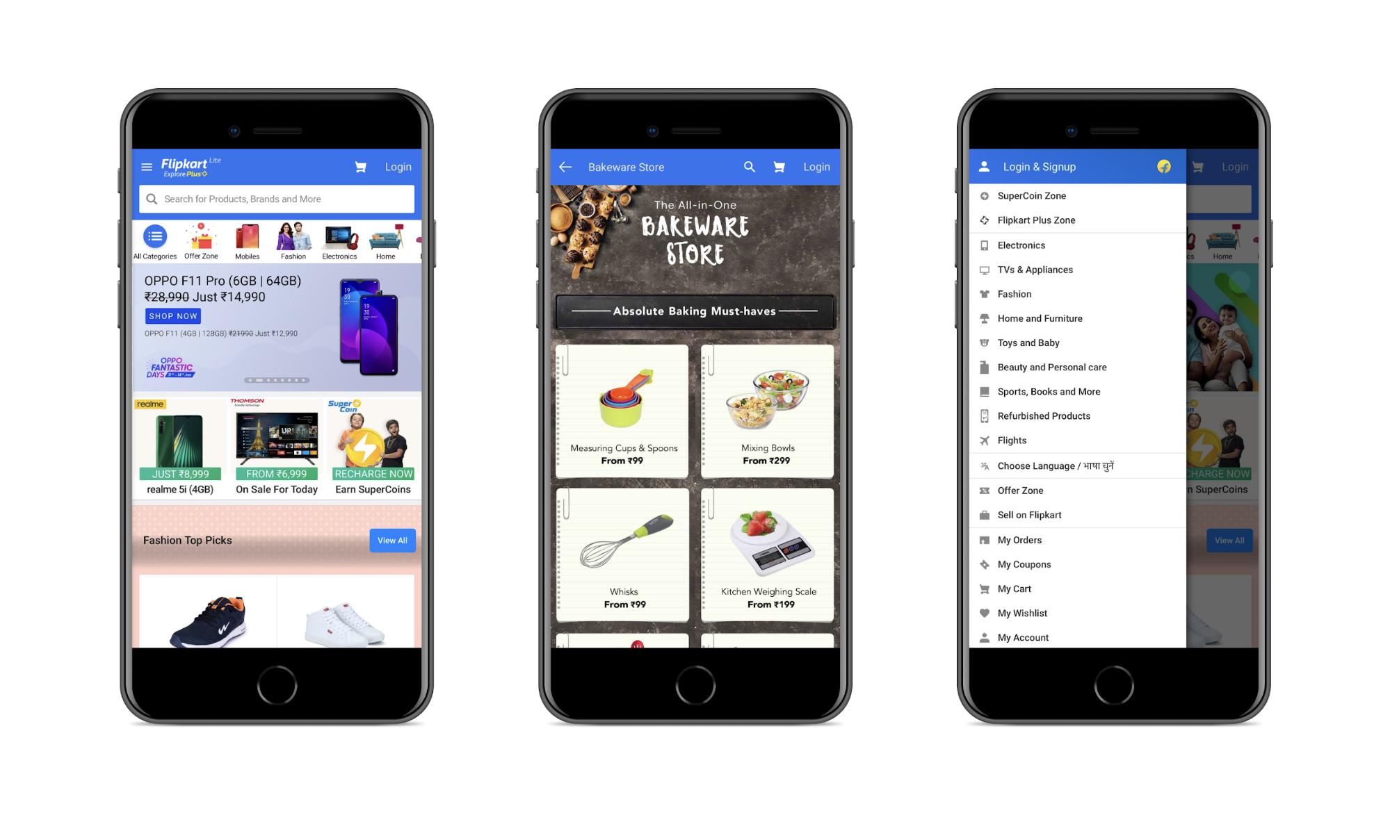 Progressive Web Application by Flipkart